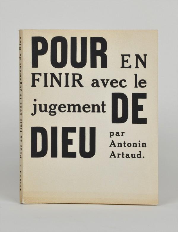 ARTAUD (Antonin)