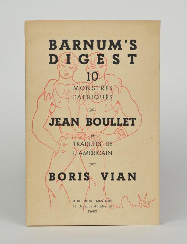 VIAN (Boris) & BOULLET (Jean)