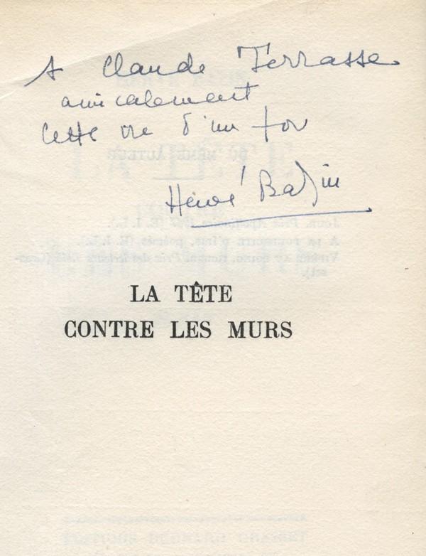 BAZIN (Hervé)