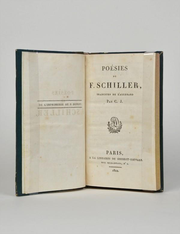 SCHILLER (Friedrich von)