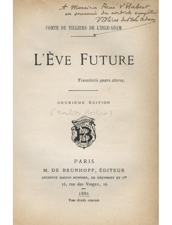 VILLIERS DE L'ISLE-ADAM (Auguste, Comte de)