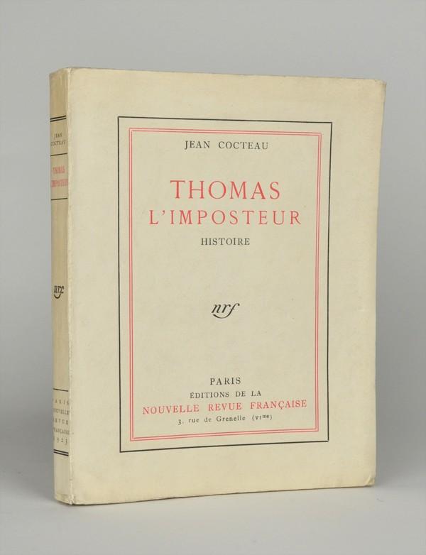 COCTEAU (Jean) Thomas L'imposteur réimposé
