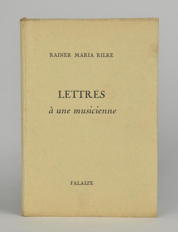 RILKE (Rainer Maria)