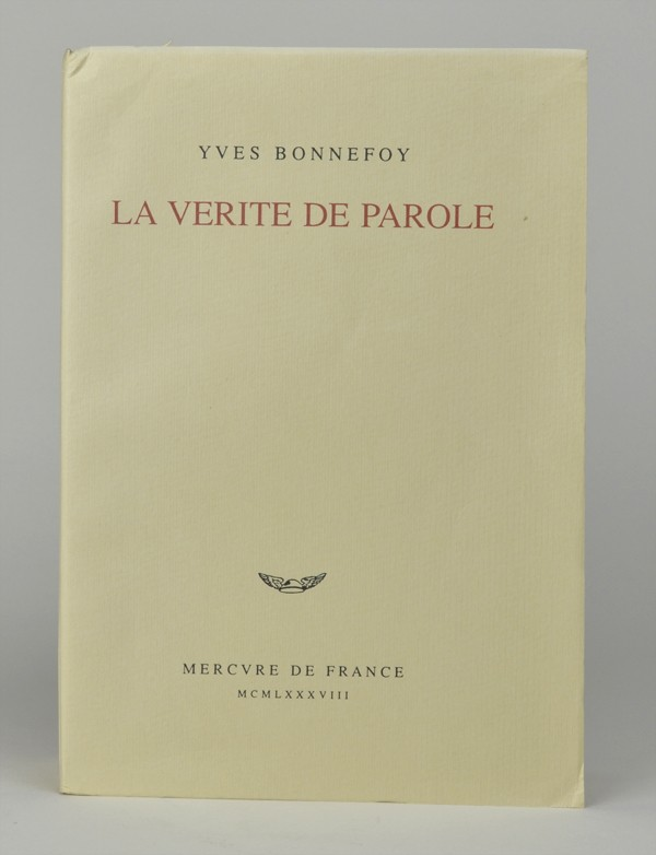 BONNEFOY (Yves)