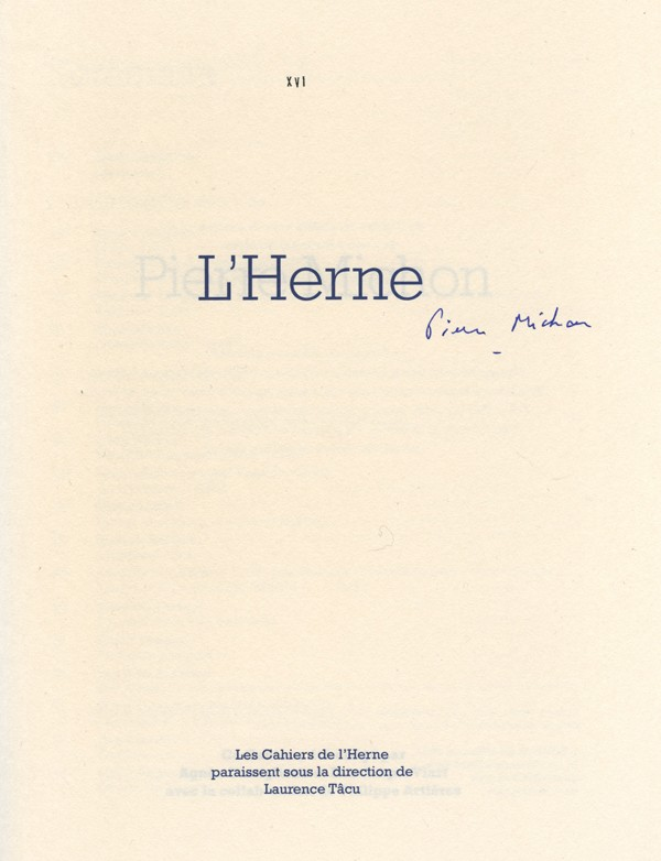 MICHON (Pierre)
