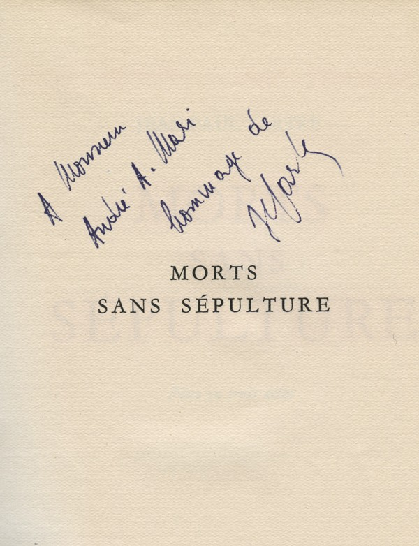 SARTRE (Jean-Paul)