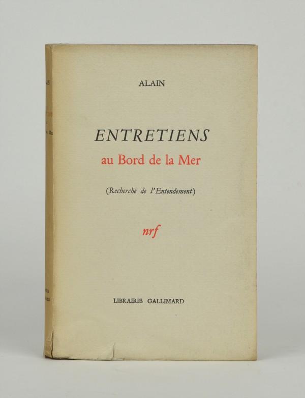 ALAIN (Émile-Auguste CHARTIER, dit)