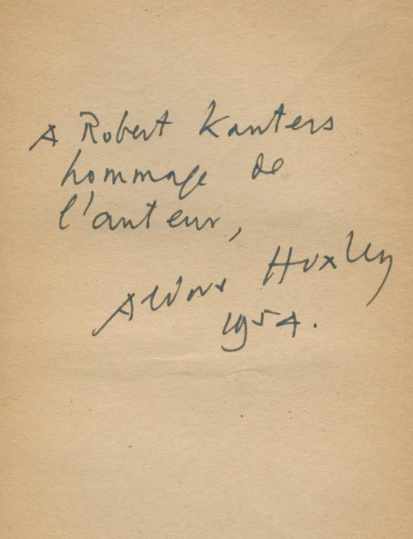 HUXLEY (Aldous)